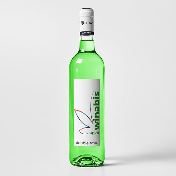 1 bottle - Winabis cannabis wine