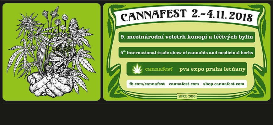 Event:  Winabis Showroom at Cannafest 2018 - Prague